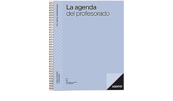 Amazon.com : additio P212 - Agenda for The Teachers 2018 ...