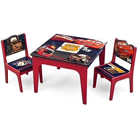 Delta Children Deluxe Table Chair Set With Storage Disney Pixar Cars
