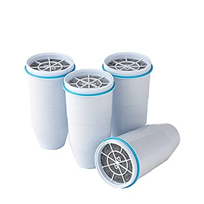 Zerowater Replacement Filters for Pitchers (4 Pack)