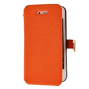 LCJ Solid Color Grin Pattern Full Body Case with Magnetic Snap for iPhone 4/4S by ruishername