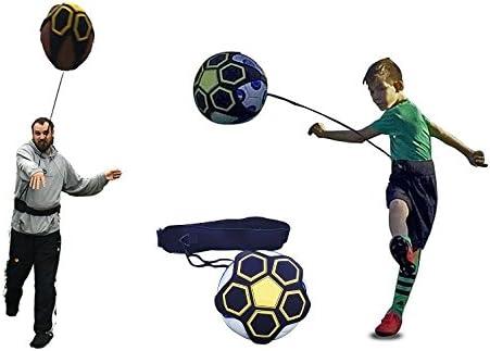 UK Football Training Kick Practice Trainer Aid Equipment Waist Belt Returner