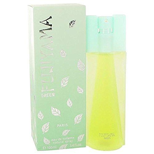 - FUJIYAMA GREEN by Succes de Paris Eau De Toilette Spray 3.4 oz