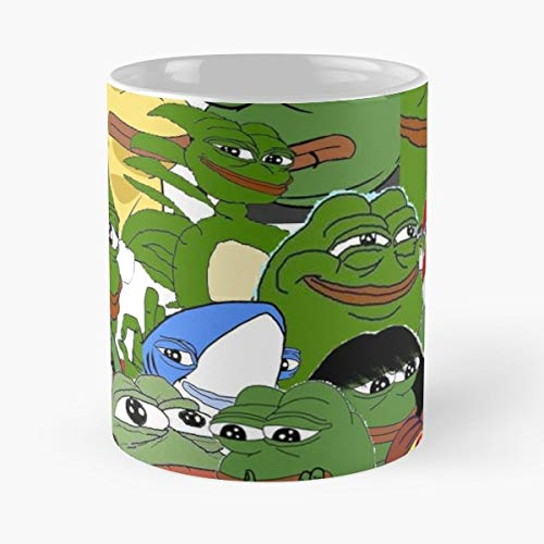 Pepe The Frog Meme - Best Gift Coffee Mugs 11 Oz: Amazon.es ...