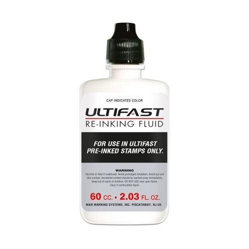 ULTIFAST INK 2oz Bottle Color black