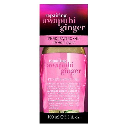 Organix Awapuhi Ginger Penetrating Oil, 3.3 Oz (Pack of 3)
