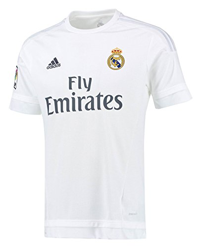 Adidas Real Madrid CF Home Youth Jersey-WHITE (XS)