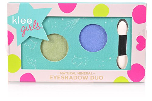 Luna Star Naturals Klee Girls Eyeshadow Duo, Kona Drive Everglades Swing/Jewel Blue/Green, 1.3 - Kids Kona