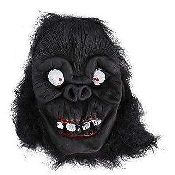 Effrayant Máscara de gorila leatherface sombreros y demás tocados para fiesta, diseño de halloween costume