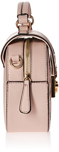 Design Bag One Size Pink Nikky Crossbody Women's Embriodered Round Body Pink Floral Cross xvIHIU8qR
