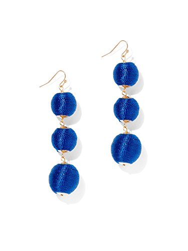 New York   Co  Womens Spherical Drop Earring 0 Residential Blue