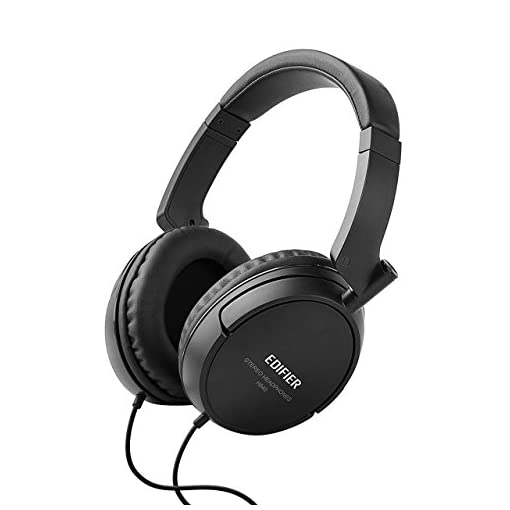 Edifier-H840-Audiophile-Over-The-Ear-Headphones-Hi-Fi-Over-Ear-Noise-Isolating-Audiophile-Closed-Monitor-Stereo-Headphone-Black