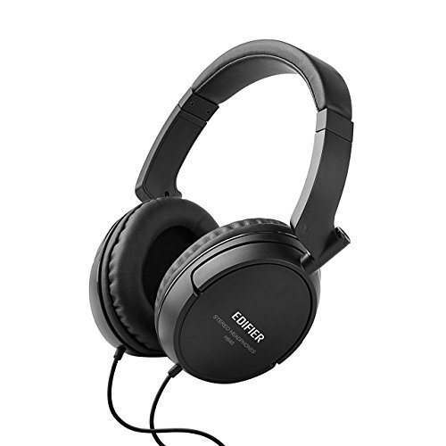 Edifier H840 Audiophile Over-the-ear Headphones – Hi-Fi Over-Ear Noise-Isolating Audiophile Closed Monitor Stereo Headphone – Black
