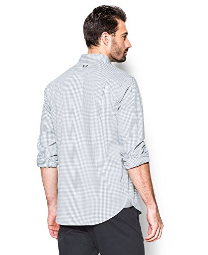Under Armour Men's Performance Woven Shirt, Steel (035)/Steel, XX-Large by Under Armour (Image #1)