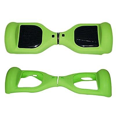 Vert de protection en silicone anti-rayures Coque Housse skin pour 6,5 pouces Smart Scooter électrique auto-équilibrage Hover Board