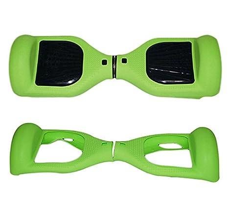 Dragon-five Verde Silicona Protección arañazos Carcasa Funda ...
