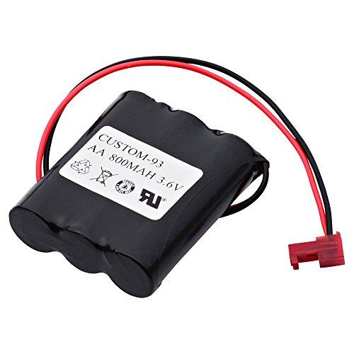 Emergency Lighting Replacement Battery -  Dantona, CUSTOM-93