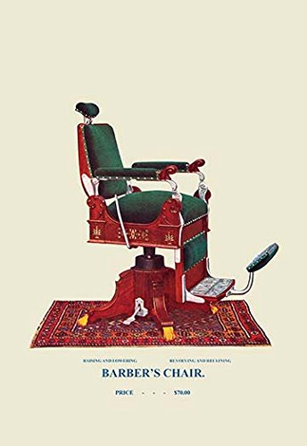 Buyenlarge-0-587-04534-5-P1827-Hydraulic-Barbers-Chair-94-Paper-Poster-18-x-27