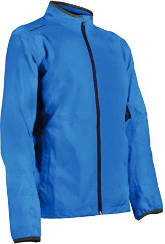 Sun Mountain Mens Cirrus Full Zip Rain Jacket Royal XL ()