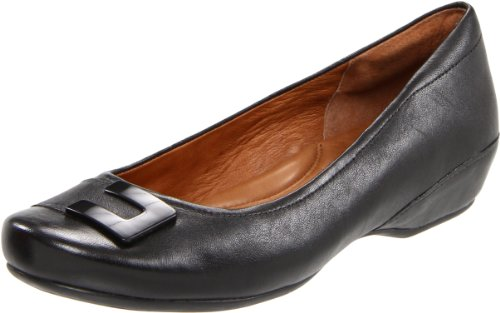 Clarks Womens Concert Choir Flat Navy Leather