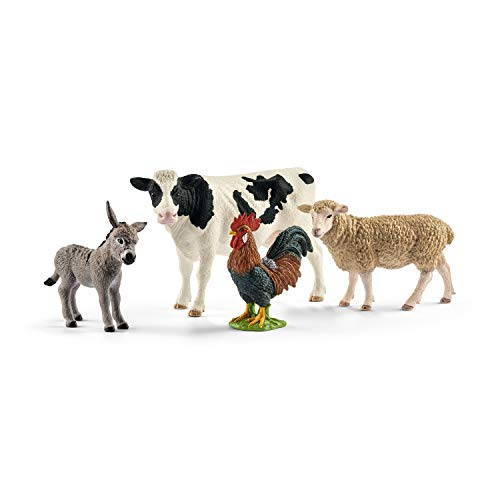 Schleich North America Farm World Starter Set Action Figure, Multicolor, Standard ()