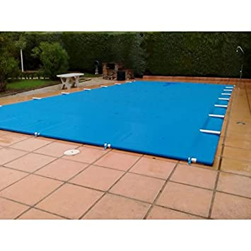 Warmpool Cobertor de Barras para Piscinas - 8.5 m, 3 m, Marrón