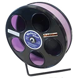 "Rodent - Semi-Enclosed Exercise Wodent Wheel 'Jr.' 8"" Lavender"
