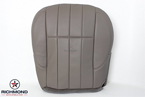 Taupe Leather Seat (1999 2000 Jeep Grand Cherokee Limited - Driver Side Bottom Leather Seat Cover, Taupe Gray)