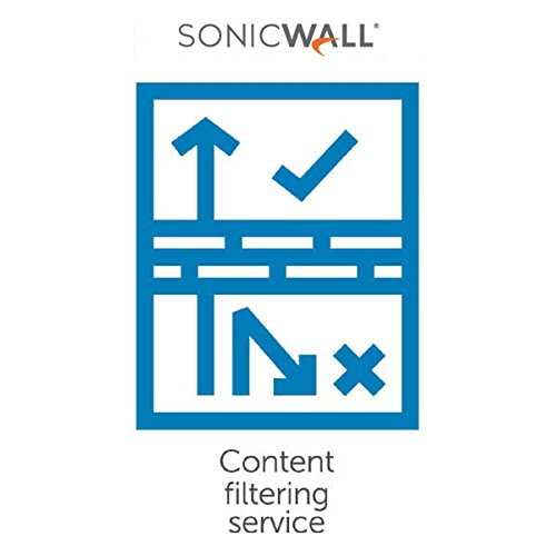 SonicWALL 01-SSC-4807 3yr Content Filtering Svc Premium For Tz 205 Series 01SSC4807