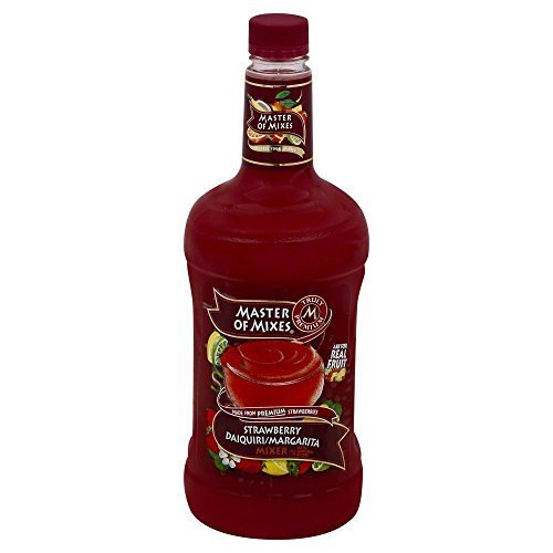 Mix Daiquiri Strawberry (Master of Mixes Lite Strawberry Daiquiri Margarita Mix, 1.75 Liter -- 6 per case. by Master of Mixes)