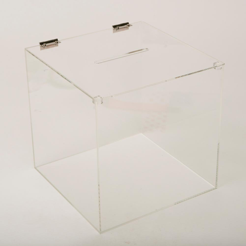 Acrylic Ticket Box by Century Novelty