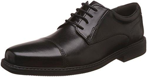 Clarks Women's Black Leather Fashion Sandals – 5.5 UK/India (39 EU) 26115611