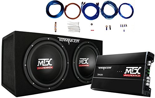 Audio Boxes Subwoofer Car (MTX TNP212D2 12