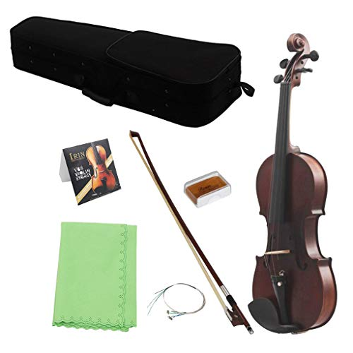 Baosity Violin w/Case Bow Rosin Set Musical Stringed Instrument Fine Tone Parts - 3/4 by Baosity