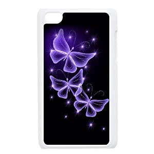 Ipod Touch 4 Phone Case Colourful Butterflies H8U7789683