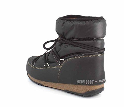 Black Stivali Moon Donna Boot Bronze Nylon Low Nero qxfpZO