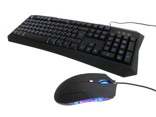 194 opinioni per iTek ITK821 Scorpion Ghost Bundle Tastiera Retroilluminata e Mouse 2000 DPI,