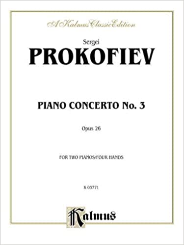 Piano Concerto No. 3 in C Major, Op. 26 (Kalmus Edition)