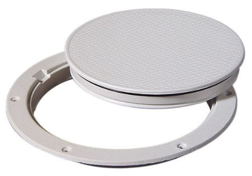 Tempress Pry Out Deck Plate 8 inch Wht 43330
