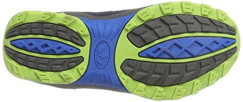 Lico Griffin, Zapatos de High Rise Senderismo para Niños Azul (Marine/blau/lemon)
