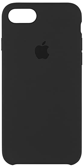 Amazon.com: Apple Silicone Case for iPhone 7 - Black: Cell Phones ...