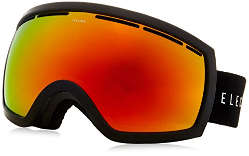 (Electric Visual EG2.5 Gloss Black/Bronze Red Chrome Snow Goggle)