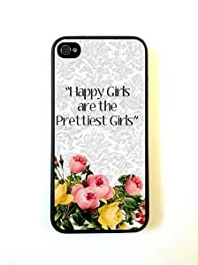 Happy Girls Are The Prettiest Girls Case For Sumsung Galaxy S4 I9500 Cover Case Fits Sumsung Galaxy S4 I9500/Designer ...