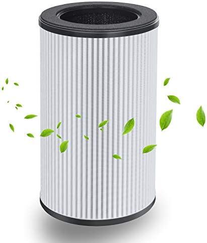 Hocheffizienter HEPA und Aktivkohlefilter Set perfekt f/ür Allergiker und Raucher QUEENTY Luftreiniger Ersatzfilter