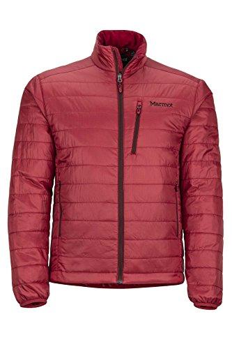 Marmot Calen Men's Insulated Puffer Jacket, Dark Crimson by Marmot