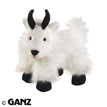 Amazon Com Webkinz Plush Stuffed Animal Mountain Goat Toys Games
