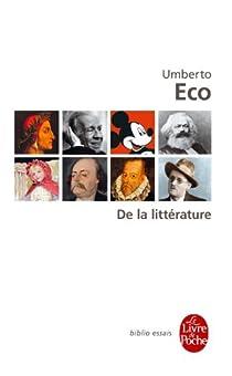 De la littérature par Eco