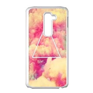 Generic Case Triangle Geometric Shapes For LG G2 G7Y6657512