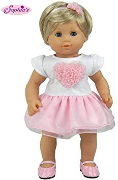 LIGHT PURPLE RUFFLED SKIRT fits American Girl /& Bitty Baby//Twins Very Detailed!