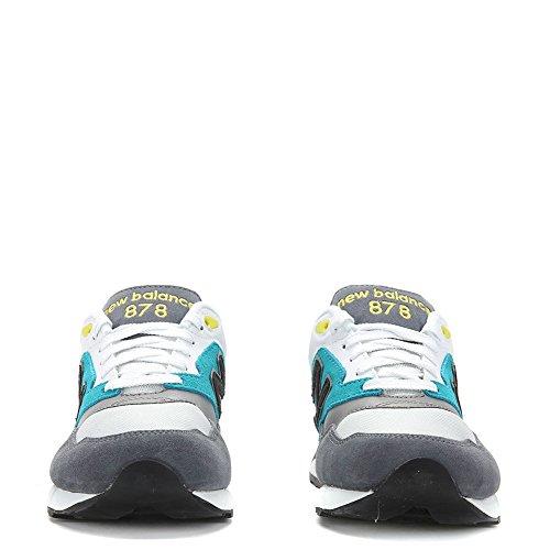 [ml878-ml878aac] Nouveau Solde Classics Traditionnels Hommes Sneakers New Balancegrey Blanc Noir