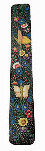 Triloka Windrose, Incense Holder Mystic Butterfly Handpainted